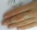 Серебряное фаланговое кольцо 0