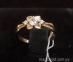 Золотое кольцо с фианитом Цветана 2