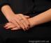 Кольцо из белого золота с бриллиантом Идиллия 2