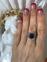 Золотое кольцо с сапфиром 2