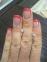 Детские золотые серьги с розовым фианитом 0