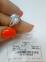 Серебряное кольцо Адель 3