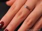 Кольцо из белого золота с бриллиантом Айрин 0