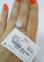 Серебряное кольцо Адель 0