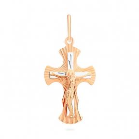 Крестик золотой для детей