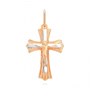 Золотой крестик Классика