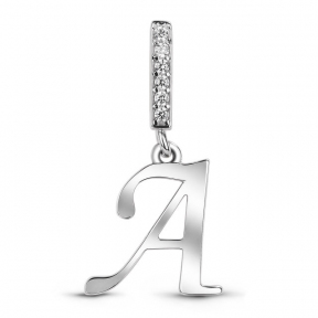 Серебряная буква А