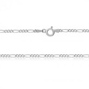Серебряная цепочка Фигаро