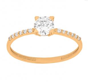 Золотое кольцо для девушки Мария