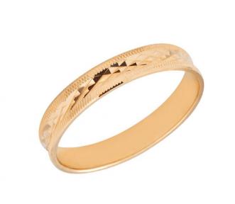 Обручальные кольца с алмазной гранью Роскошь