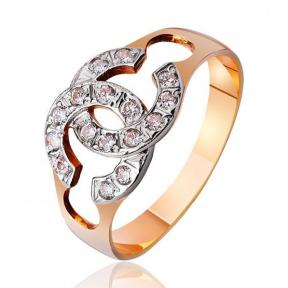 Золотое кольцо Шанель
