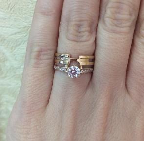 Золотое кольцо Эльза