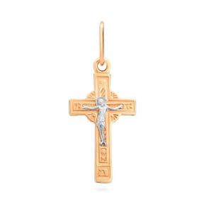 Золотой крестик Святой