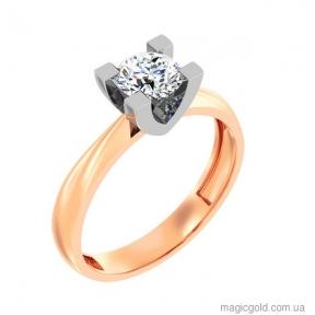 Золотое кольцо Блеск бриллианта