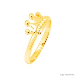 Золотое кольцо Корона Голд