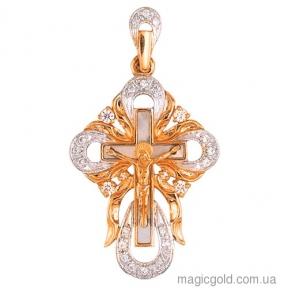 Золотой крестик Эксклюзивная коллекция