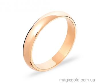 Золотое обручальное кольцо Классика ширина 3 мм