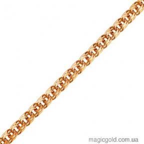 Золотой браслет плетения Бисмарк