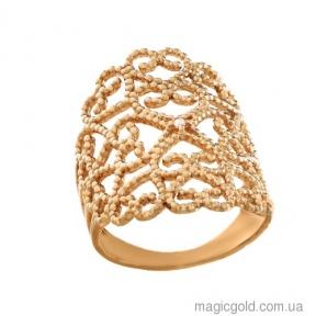 Золотое кольцо фаланговое Кружева