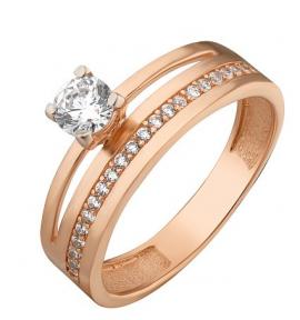 Золотое кольцо двойное Вдохновение