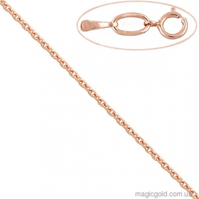 Золотая цепочка Якорная 45см