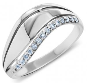Женское серебряное кольцо Дана