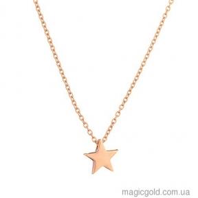 Золотое Колье Звезда