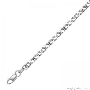 Серебряная цепочка Ромб