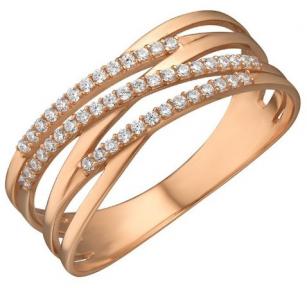 Золотое кольцо женское Альма