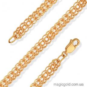 Золотая цепочка Питон 45см