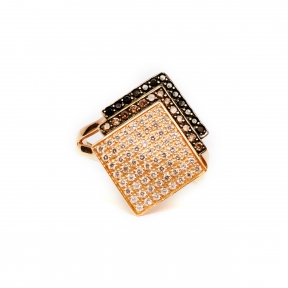 Золотое кольцо Квадрат