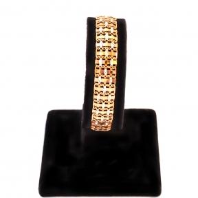 Золотой браслет  Квадраты