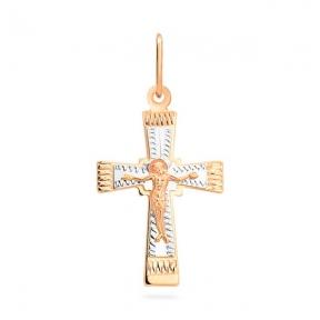 Золотой  крестик Божественная защита
